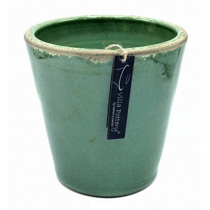 Villa Pottery  Groene Bastogne Pot 30x30