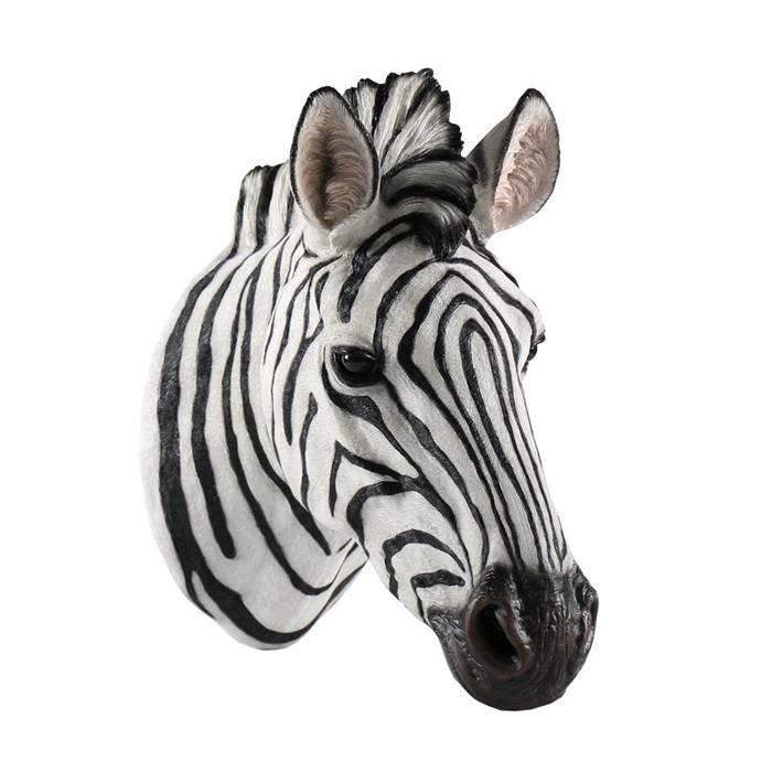 Villa Pottery  Zebra Wanddecoratie