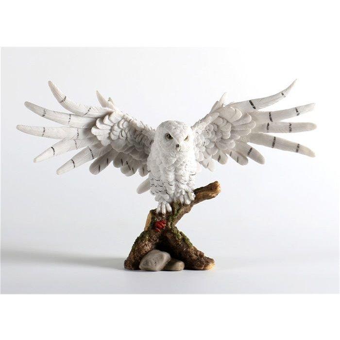 Decopots - Villa Pottery Sneeuw Uil