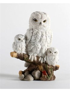 Villa Pottery  Sneeuw Uilen Family