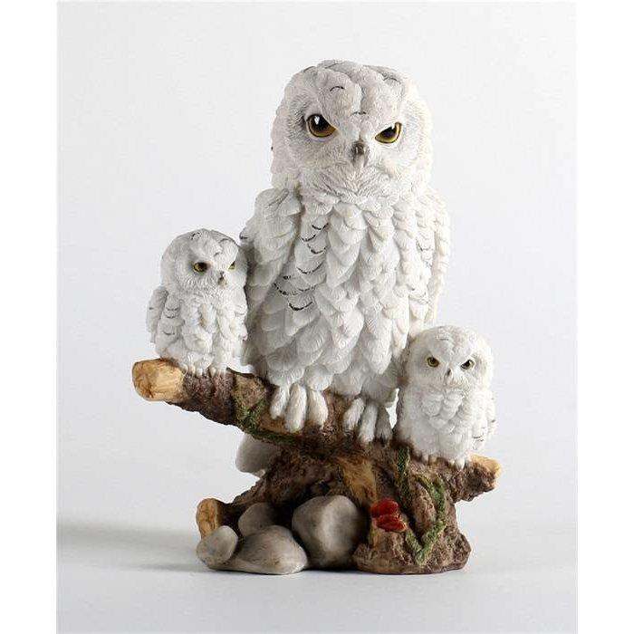 Decopots - Villa Pottery Sneeuw Uilen Family