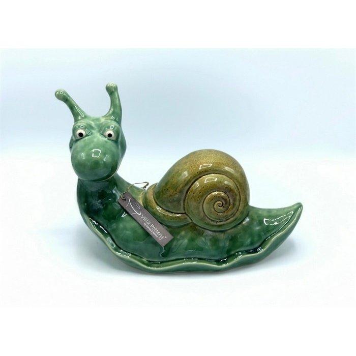 Villa Pottery  Groene Slak 33x23