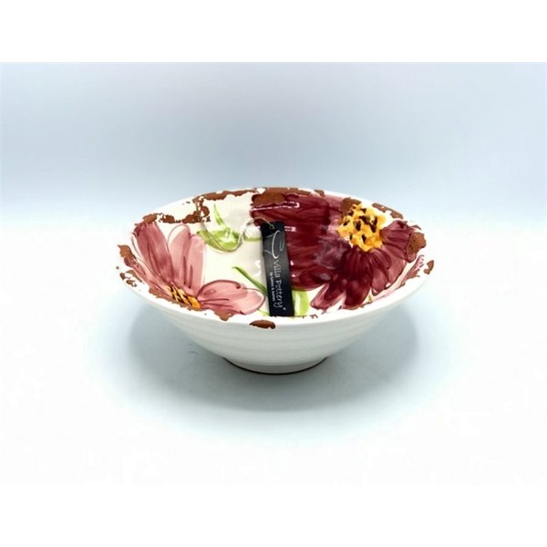 Villa Pottery  Roze Schaal Flowergarden