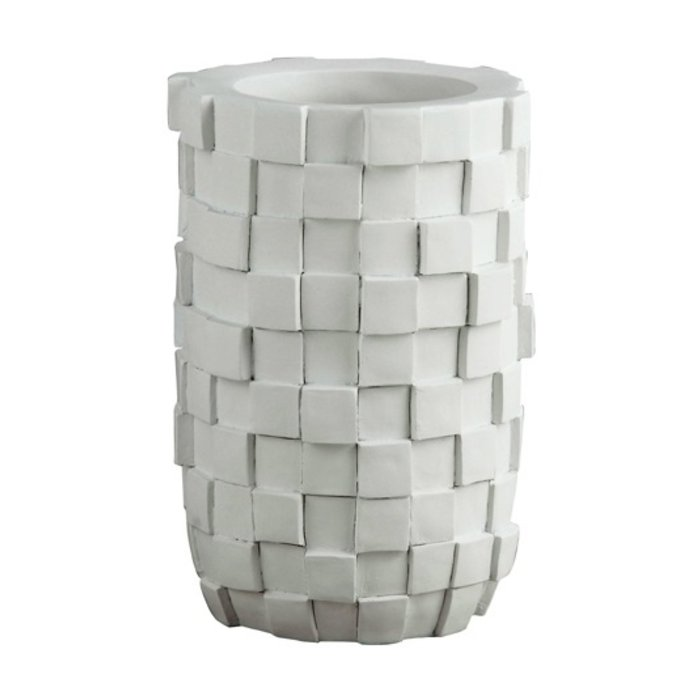 Villa Pottery  Paggio Witte Vaas / Pot