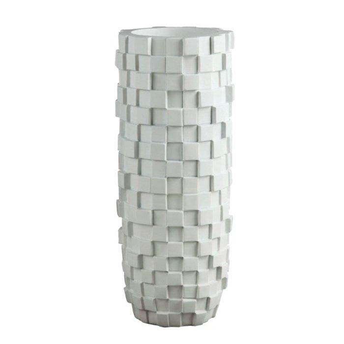 Villa Pottery  Witte Vaas Paggio 85x34