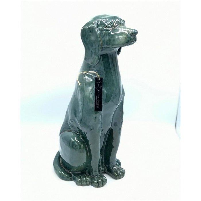 Villa Pottery  Riga Hond Groen