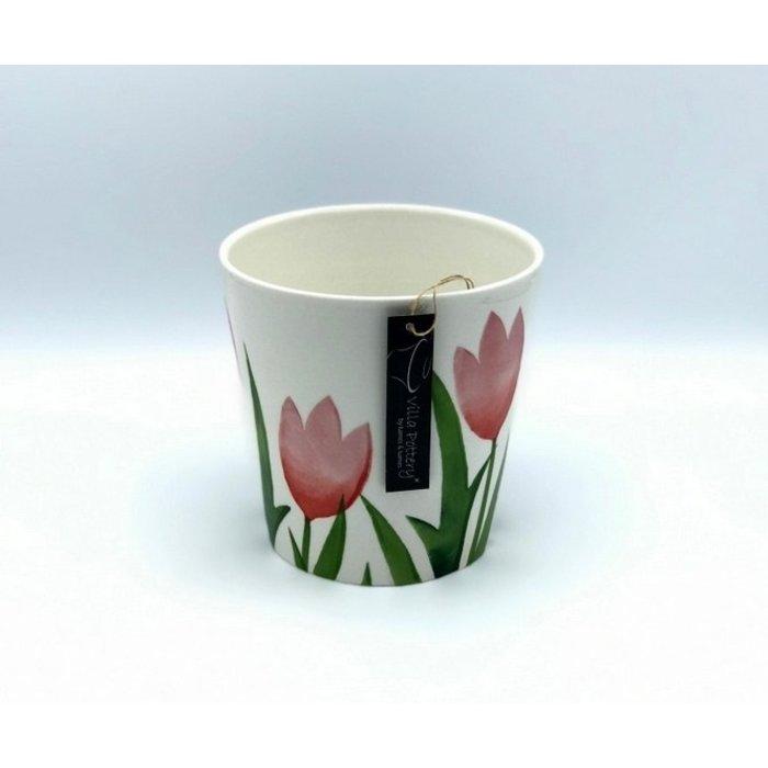 Villa Pottery  Flowerpot Rode Tulp