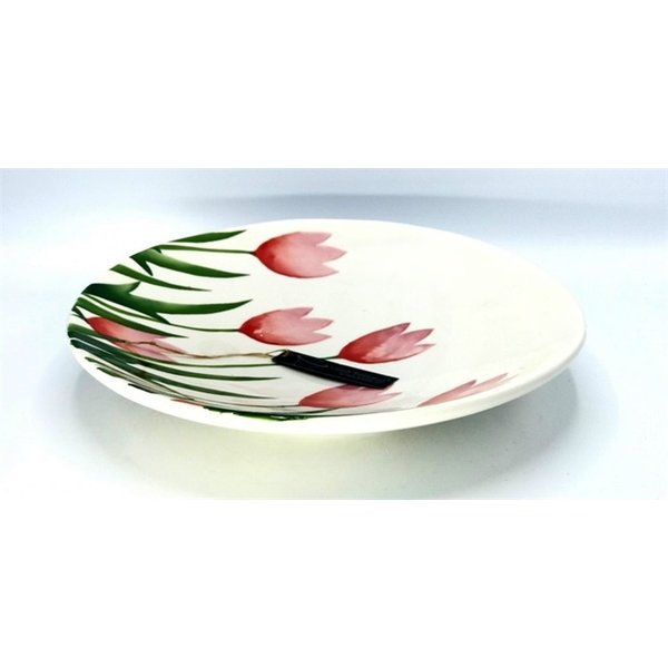 Villa Pottery  Flowerplate Tulp