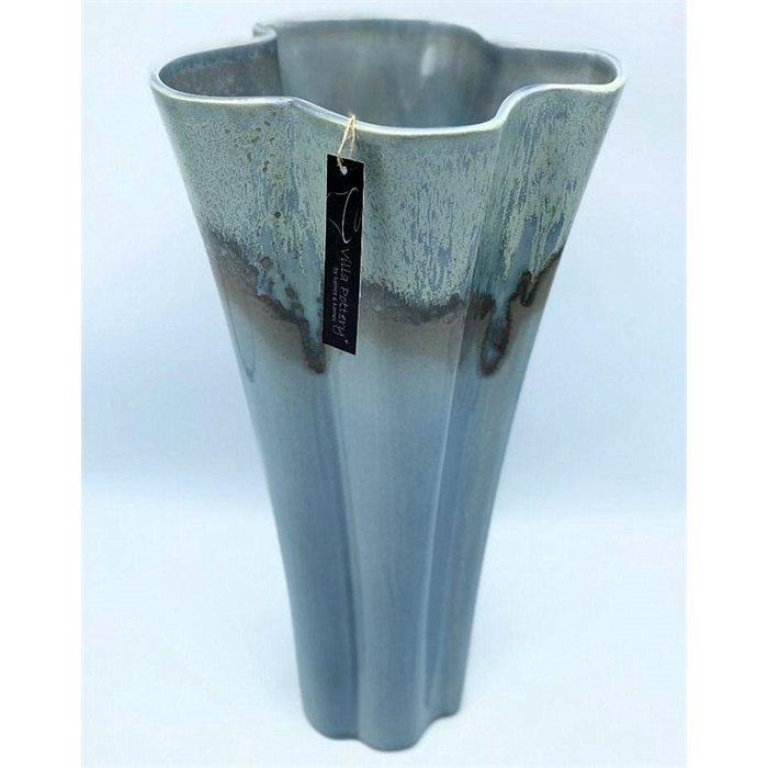 Villa Pottery  Blauwe Vaas Vittel 32x46