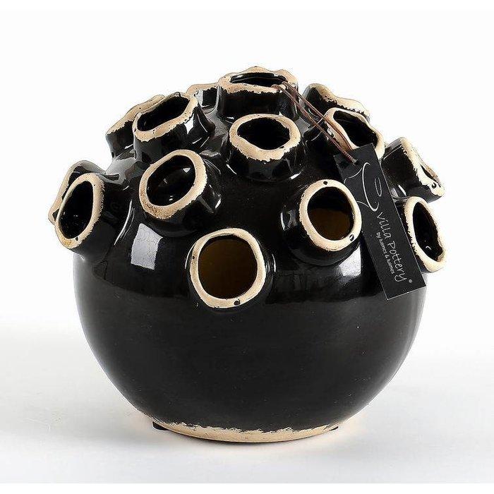 Villa Pottery  Bolvormige Vaas - Picco 22x22x20