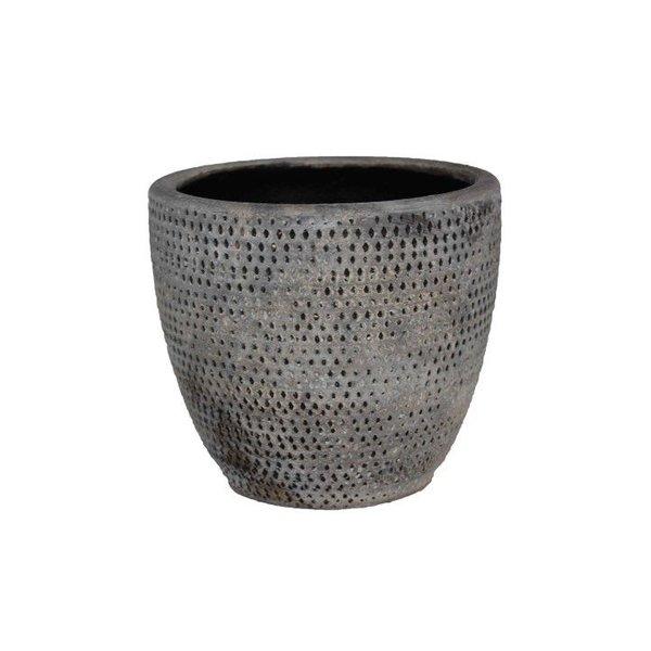HS Potterie Grijze pot Luca 28x25
