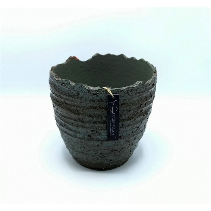 Villa Pottery  Groene pot Stelvio