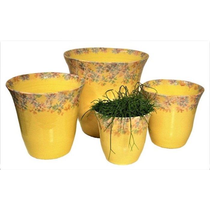 Villa Pottery  Campanula Gele Pot