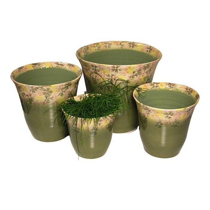 Villa Pottery  Campanula Groene Pot