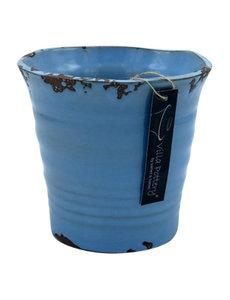 Villa Pottery  Blauwe Pot Flowergarden