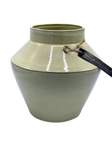 Villa Pottery  Grijze Vaas Oskar