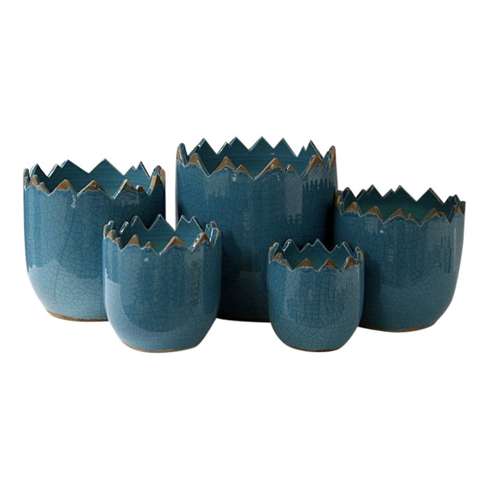 Villa Pottery  Peak Collection Turquoise