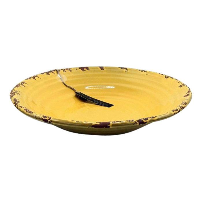 Villa Pottery  Ronde Schaal Pesso 40x9
