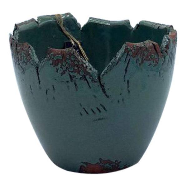 Villa Pottery  Pesso Pot Groen 17x16
