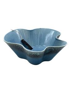 Villa Pottery  Blauwe Schaal Vittel