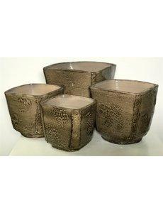 Decopots - Villa Pottery Brugge Taupe pot