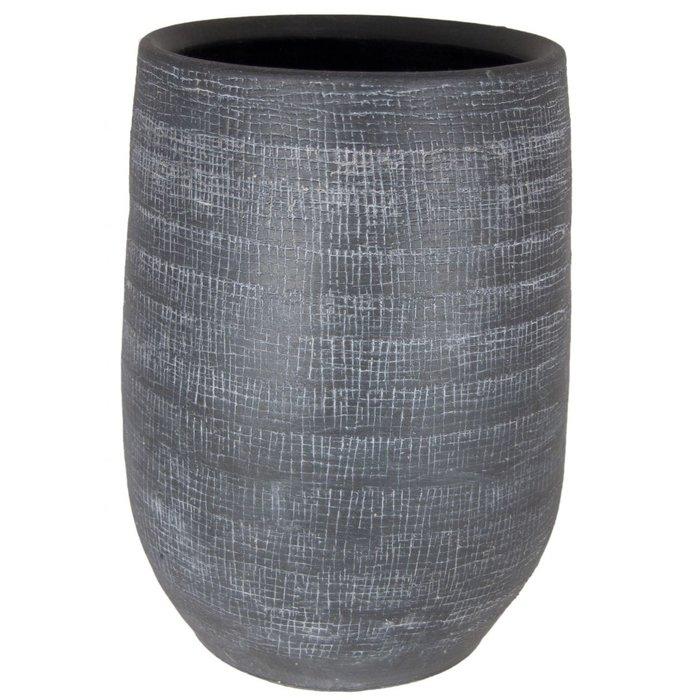 HS Potterie Antraciet Vaas/Pot Rio