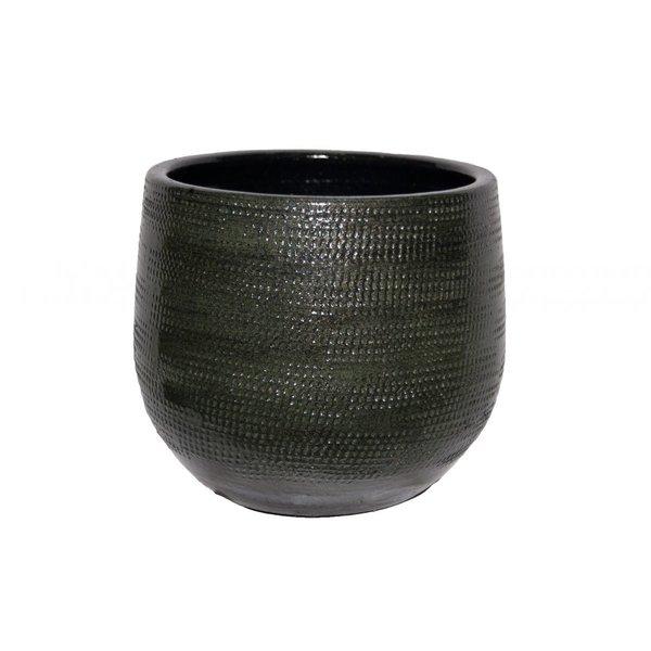 HS Potterie Groene Pot Tokio D24xH22, set van 2