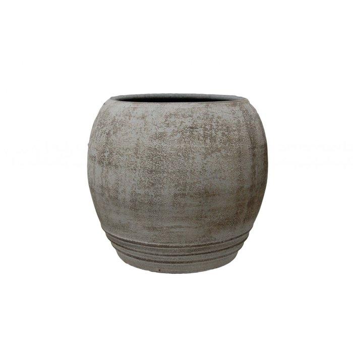 HS Potterie Bolle Pot Diano grijs Cement