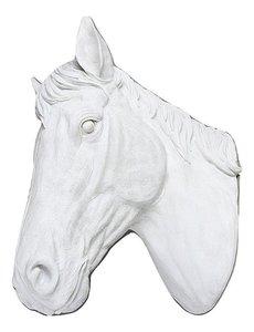 Villa Pottery  Paardenhoofd Wanddecoratie -Paard - Wit