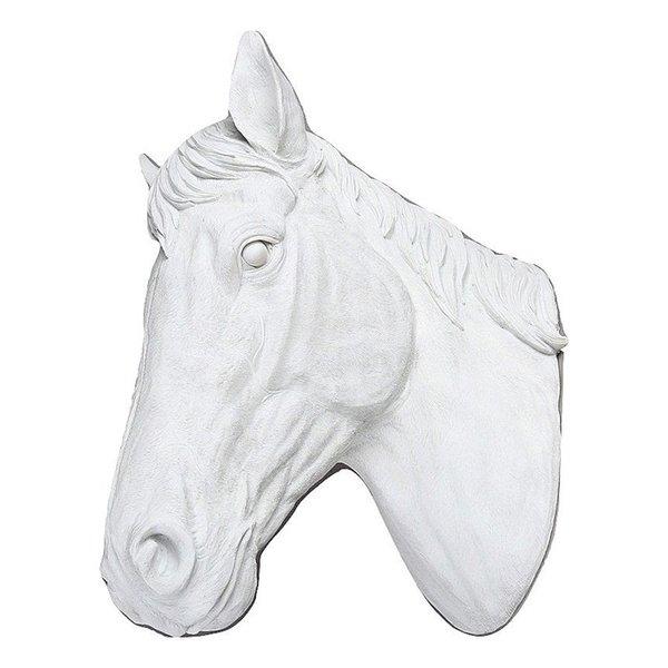 Villa Pottery  Paardenhoofd Wanddecoratie - Paard - Wit