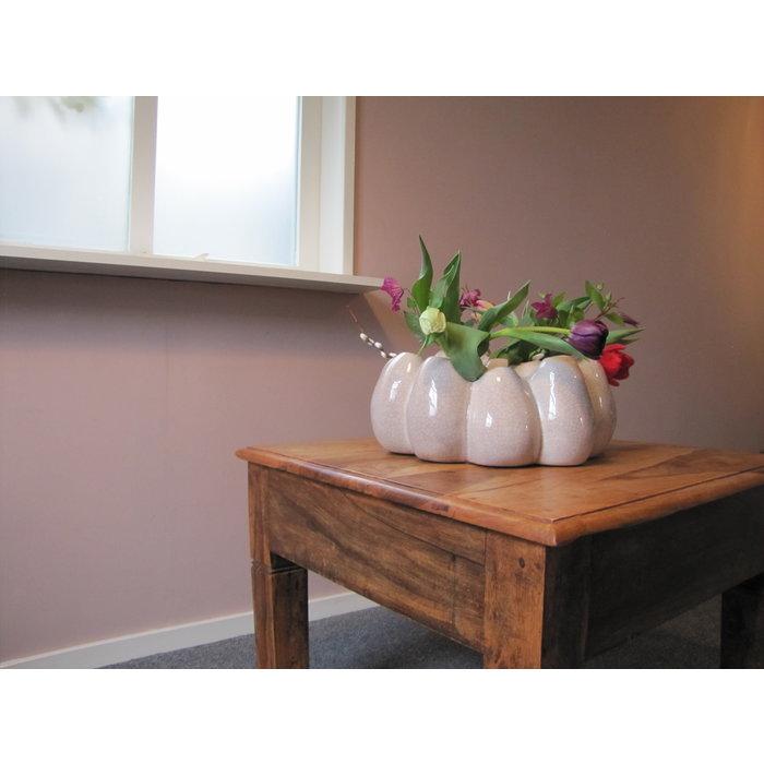 Villa Pottery  Pompom Pink