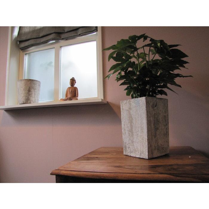 Villa Pottery  Oostende Grijze Pot 26x26x39