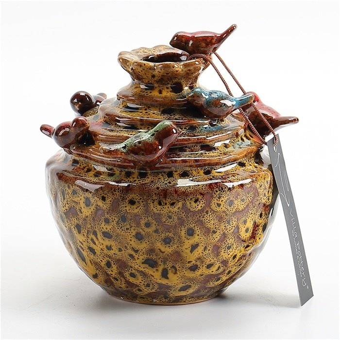 Villa Pottery  Gele vaas Grenada
