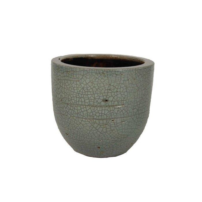HS Potterie Grijze pot Dansk D33xH31