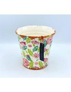 Villa Pottery  Multi Roze Pot Flowergarden