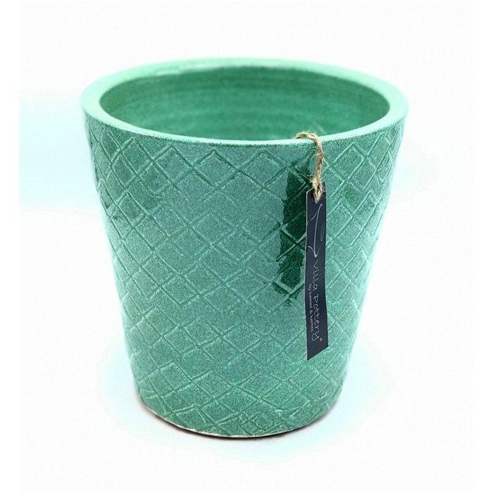 Villa Pottery  Groene Pot Cordoba