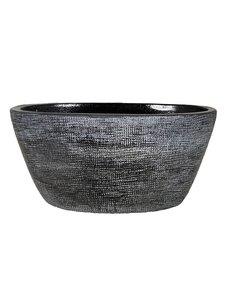 HS Potterie Donker Grijs ovale  Pot Stockholm