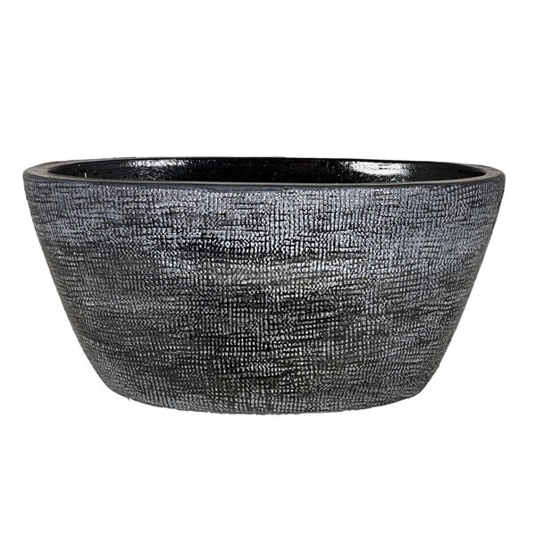 HS Potterie Donker Grijz ovale Pot Stockholm