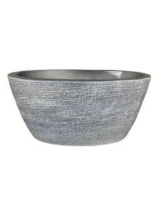 HS Potterie Grijs ovale  Pot Stockholm