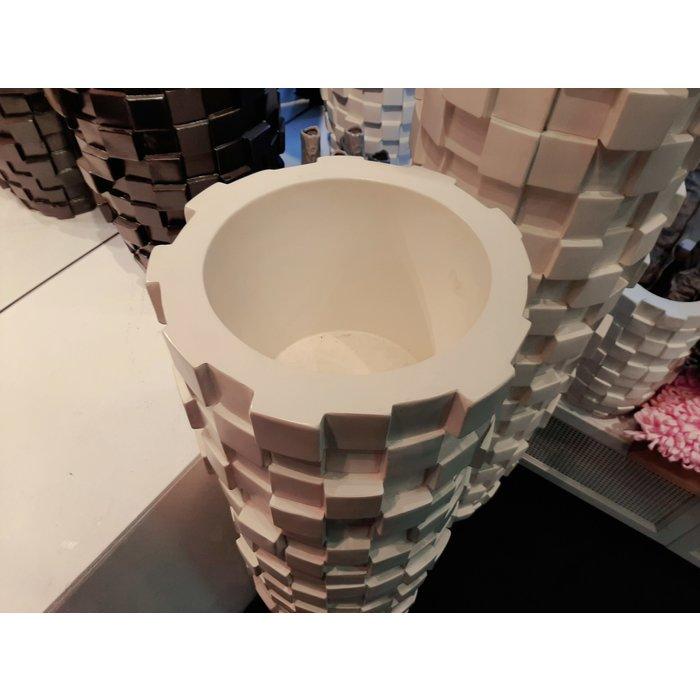 Villa Pottery  Grijze pot Paggio 143x40