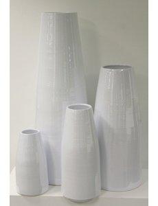Villa Pottery  Witte pot X-design