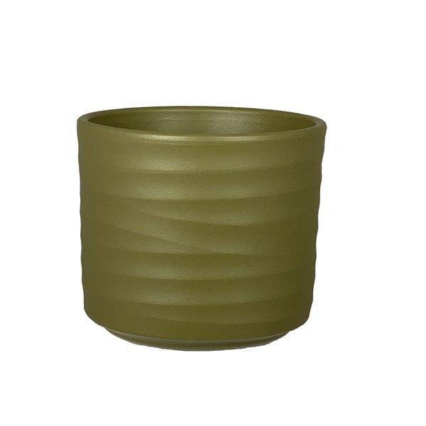 HS Potterie Groene Pot Berlin 13x13 - set van 2