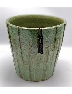 Villa Pottery  Groene Pot Victor