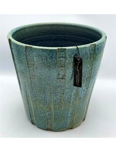 Villa Pottery  Blauwe Pot Victor