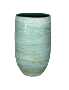 HS Potterie Aqua Blauw/GroeneVaas - Pot Tokio