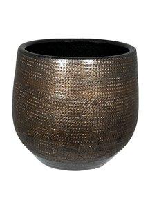 HS Potterie Bruin Koper Pot Tokio