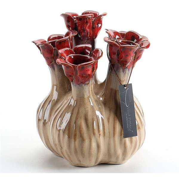 Villa Pottery  Nature-Red 5xtuit vaas Quito