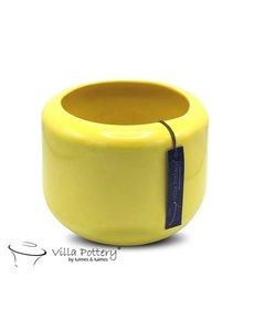 Villa Pottery  Gele pot Kopenhagen 21x22