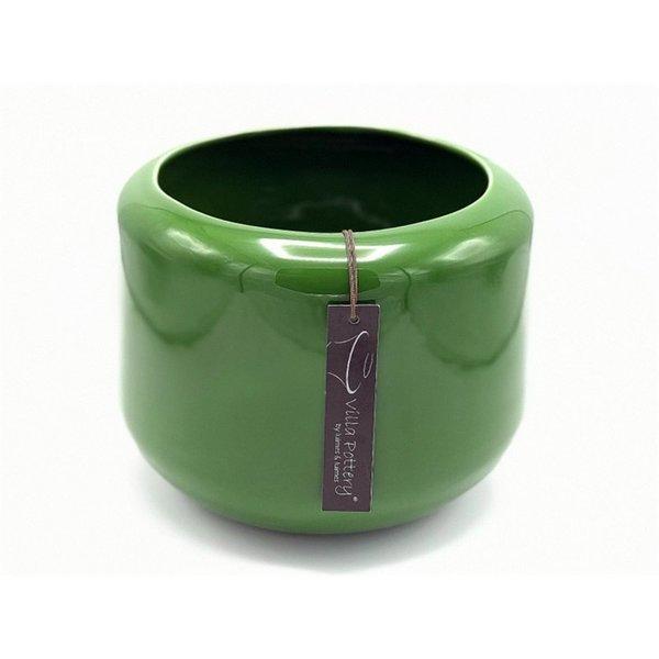 Villa Pottery  Groene pot Kopenhagen 21x22