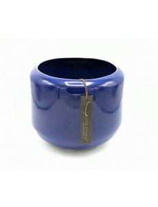 Villa Pottery  Blauwe pot Kopenhagen 21x22